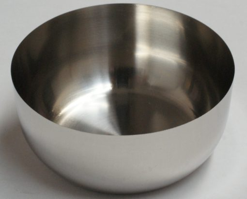 Flat Bottom Platinum Dish