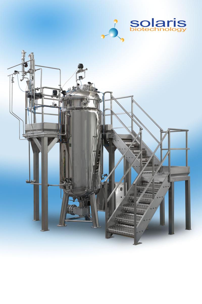 Industrial Scale Bioreactors Fermenters I Series Laval Lab
