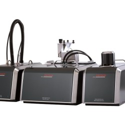 Particle Sizer dry and wet dispersion units