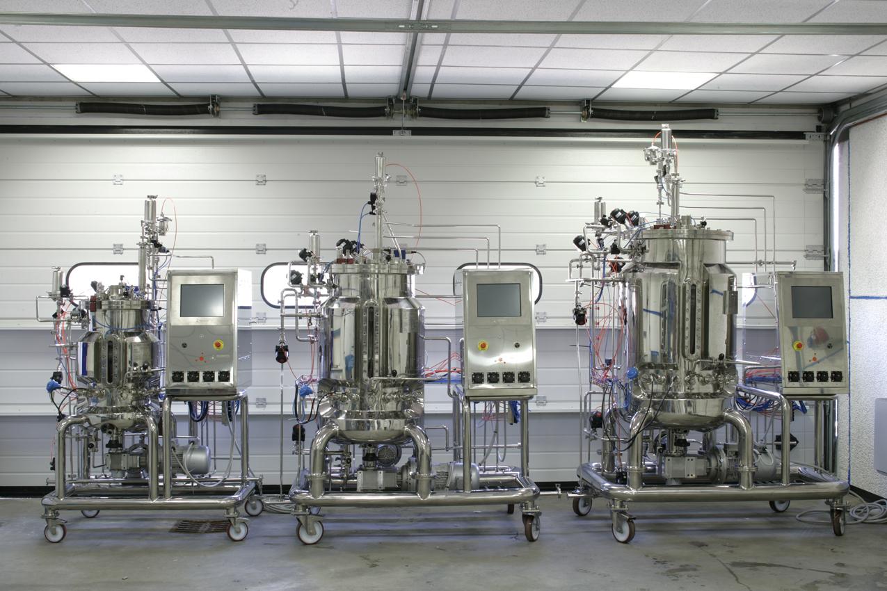 Pilot Scale Sip Bioreactors Fermenters Laval Lab