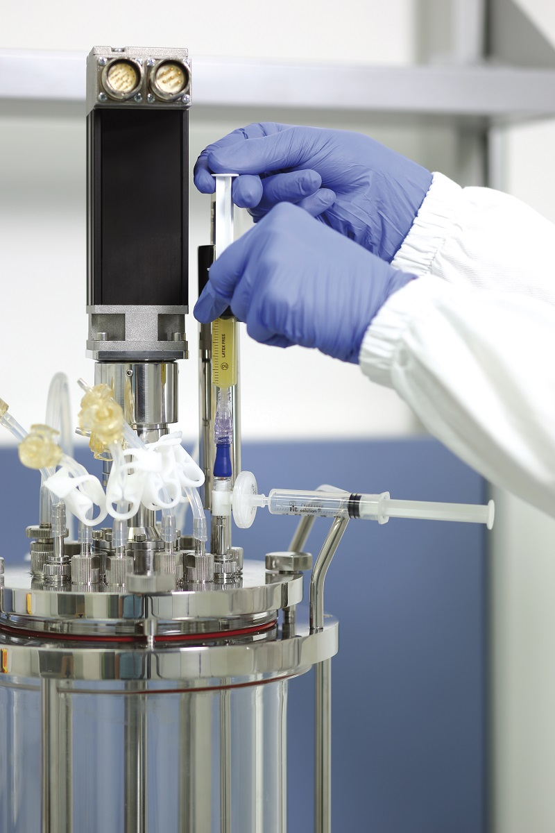 Mini Bioreactors Fermenters 200 Or 1000 Ml Laval Lab